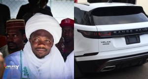Super Eagles striker, Ahmed Musa buys latest Range Rover Velar (Photo)