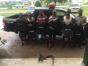 SARS Officers Arrest Armed Robbers Who Operate In Police Outfits In Rivers (Photos)
