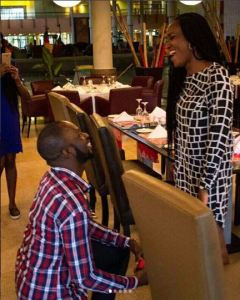 Man Travels From Lagos To Uyo To Propose To His Makeup Artist Girlfriend (Photos)