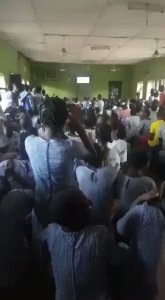 #Nigeria Vs Iceland: Check Out How Secondary School Students Reacted to Iceland's Penalty Miss (Video)