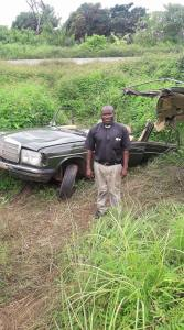 Check Out An Accident A Priest Came Out From Without Any Injury. (Photos)