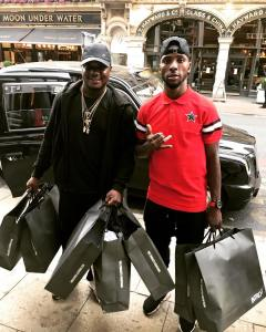 CDQ Goes Shopping With Iheanacho In UK (Photo)