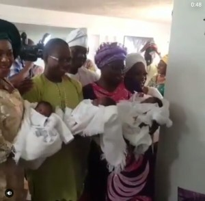 Us-based Nigerian Couple Welcome A Set Of Triplets After 20 Years Of Marriage (Photos)
