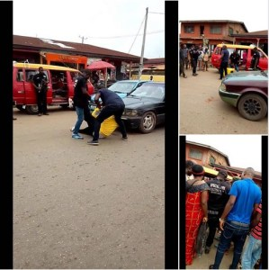 Man Refuses To Be Arrested By SARS In Benin. (Photos/Video)