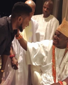 BBnaija Winner, Miracle Ikechukwu Igbokwe Visits Ooni Of Ife (Video)