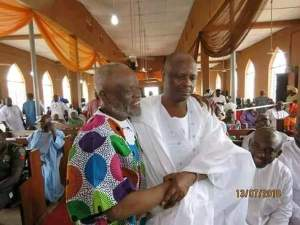 Photos Of Rabiu Kwankwaso In Church On Friday Instead Of Mosque Go Viral