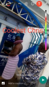 Man Wears Only Towel To Withdraw Money At An ATM  (Photo)