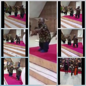 Watch As Three Midgets Dance Happily And Sing Praises In Church (Photos, Video)