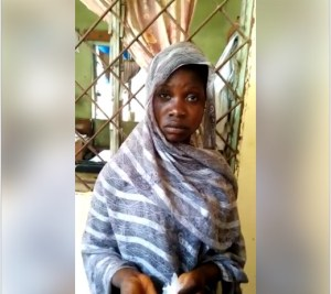 Teen Girl Caught Selling Marijuana To Students In Kano State. Photos