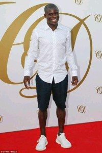 , Check Out Ngolo Kante's Outfit To Fabregas' Wedding Party (Photo), Effiezy - Top Nigerian News & Entertainment Website
