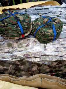 Container Of Military Wears Intercepted By Customs In Port-Harcourt. (Photos)