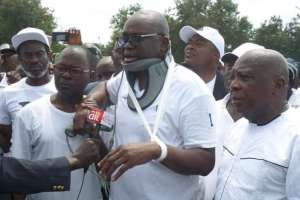 Ekiti election : Majority of my staff have been arrested by police, Fayose cries