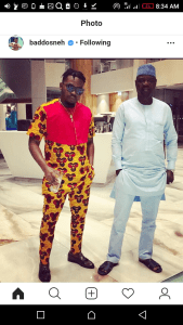 Olamide Looking Dapper In Fitted Ankara Outfit (Photos)