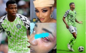 Super Eagles player, Shehu Abdullahi Batters Wife For Her Refusal Not To Pick Her Calls In His Presence (Photos)