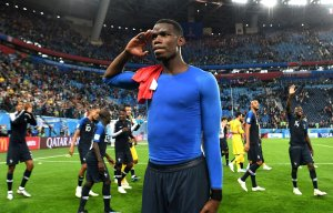 Paul Pogba dedicates France victory over Belgium to the rescued Thai football team