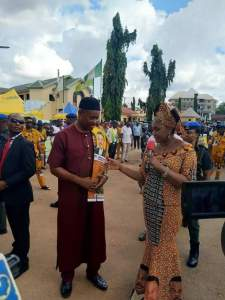 Tony One-Week Dumps APC For APGA, Appointed As SSA To Governor Obiano (Photo)