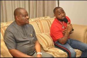 Governor Wike Hosts Davido And His Crew At Rivers Govt. House (Photos)
