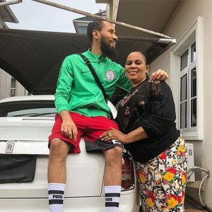 Check Out Phyno's Beautiful Mother (Photo)