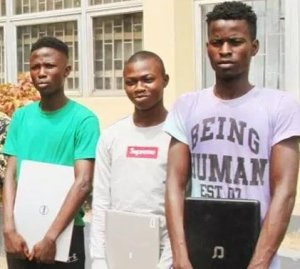Confession Of 3 Yahoo Boys Arrested For Cultism (Photo)