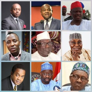 List Of Nigerians That Want To Be President In 2019
