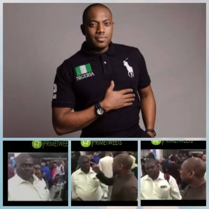 Fela Durotoye Cautiona A 'Big Man' To Join The Queue At Abuja Airport (Video)