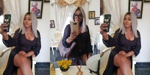 Mercy Aigbe Shares Sultry Selfies (Photos)