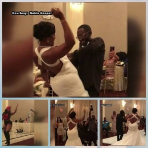 Houston Bride Strips To Her Pants, Dances With Husband On Their Wedding Day (Photos & Video)