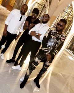 D'banj, 2face, Ubi Franklin & Swanky Jerry Hang Out In Dubai (Photos)