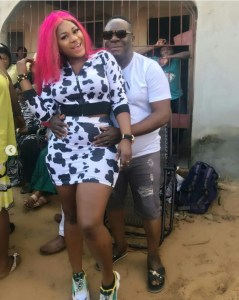 See As Destiny Etiko Is Seducing Mr Ibu  (Photos)