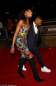 Wizkid And Naomi Campbell Pictured Together At GQ Men Of The Year Awards (Photos & Video)