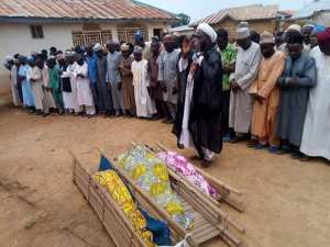 TRAGIC!!! Father loses 3 Children As Building Collapses On Them In Kaduna