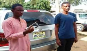 2 Young Men Stab Alhaji With Big Nail In His Throat In Kano (Graphic Photo)