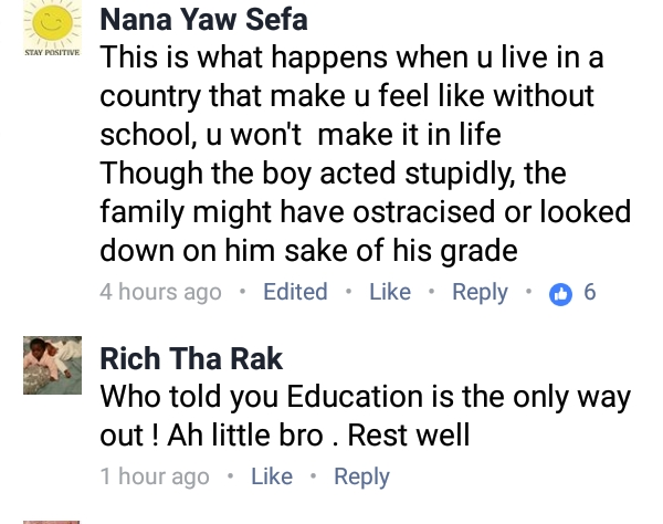 , 16-Year-Old Boy Commits Suicide By Hanging In Ghana For Failing An Exam (Photos), Effiezy - Top Nigerian News & Entertainment Website