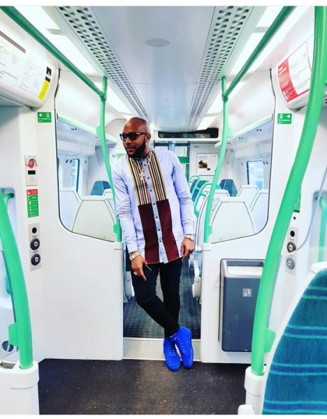 , E-money Swagged Up As He Hits London Bridge Station (Photos), Effiezy - Top Nigerian News & Entertainment Website
