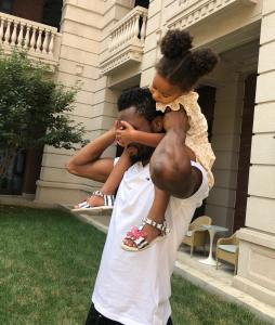 Mikel Obi Celebrates His Twin Daughters On Their 3rd Birthday (Photos)