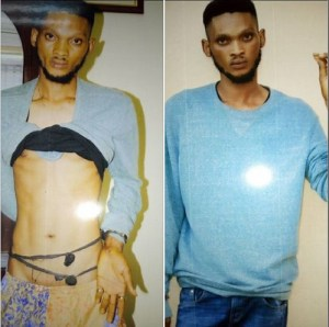 Notorious Cultist Nabbed By Security Men In Calabar, Charms Recovered. (Photos)