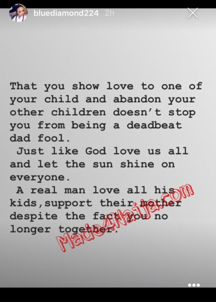 """, """"You are a deadbeat fool"""" – Wizkid's 2nd Baby Mama, Binta Fires Back At Him, Effiezy - Top Nigerian News & Entertainment Website"""