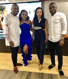Cee-C, Nina, Ubi Franklin & Eyo Bassey At The Launch Of Sapphire Scents (Photo)