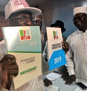 BREAKING: A Group Of Good Nigerians' Buys N45m Presidential Forms For Buhari (Photos)