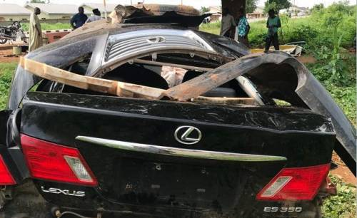 , Sultan Of Sokoto's Son In Serious Car Cash After 'Getting High On Codeine' (Photos), Effiezy - Top Nigerian News & Entertainment Website