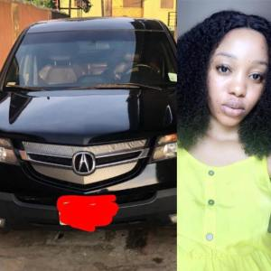 Nigerian Lady narrates how she acquired a new car, months after her boyfriend left her