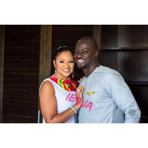 Chris Attoh Marries Betty Jennifer, 10 Months After Divorcing Damilola Adegbite (Video/Photos)