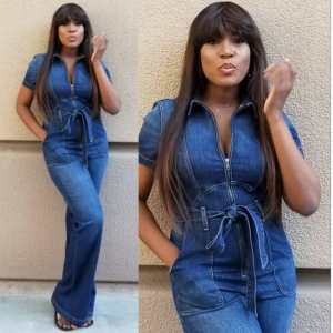 Weeks after giving birth, Linda Ikeji shares post baby bod photos