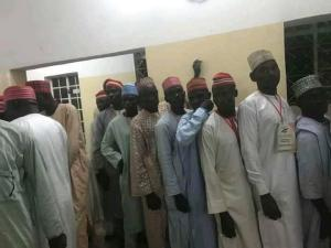 PDP Holds Kano Governorship Primaries In Kwankwaso's House (Photos)