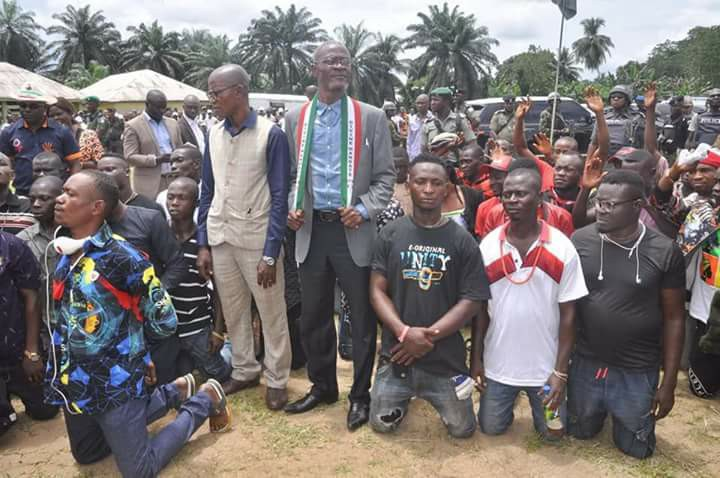 , Check out the amount of guns recovered from this cultists in Akwa Ibom State (Photo), Effiezy - Top Nigerian News & Entertainment Website
