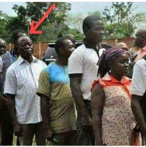 See This Throwback Photo Of Adams Oshiomhole On A Voting Queue
