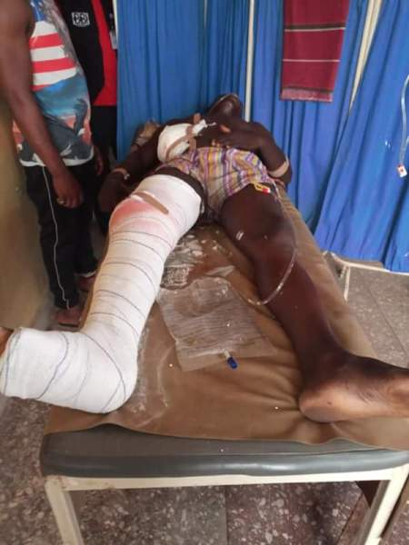 , Police Shoot 2 Students In Asaba, One Dies On The Spot (Graphic Photos), Effiezy - Top Nigerian News & Entertainment Website