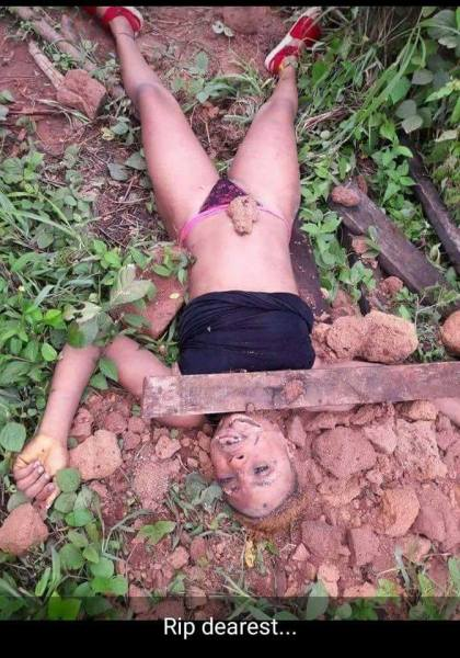 See Photo Of The Edo Lady Who Was Killed In A Bush In Edo (Graphic Photos), Effiezy - Top Nigerian News & Entertainment Website