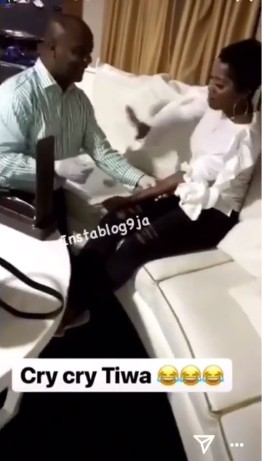 , Watch As Sick Tiwa Savage Cries As She Is Being Injected (Video), Effiezy - Top Nigerian News & Entertainment Website
