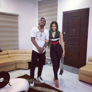 Super Eagles Emmanuel Emenike Shows Off His Sexy Wife As They Hang Out (PHOTO)